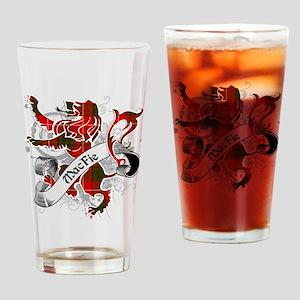 MacFie Tartan Lion Drinking Glass
