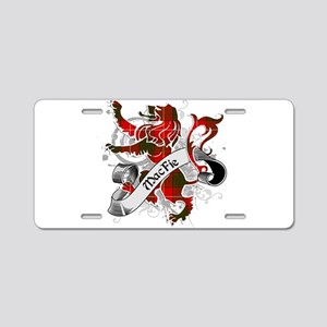 MacFie Tartan Lion Aluminum License Plate