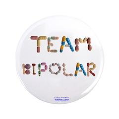 """Team Bipolar 3.5"""" Button (100 Pack)"""