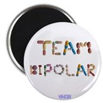 Team Bipolar Button Magnets