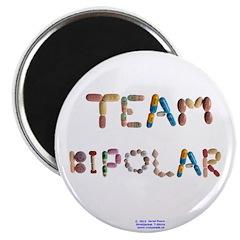 Team Bipolar Button Magnets