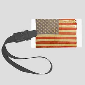 Vintage Flag Luggage Tag
