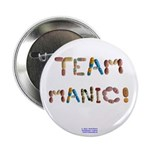 "Team Manic! 2.25"" Button (100 Pack)"