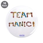 "Team Manic! 3.5"" Button (10 Pack)"