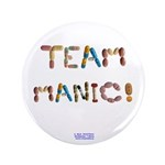 "Team Manic! 3.5"" Button (100 Pack)"