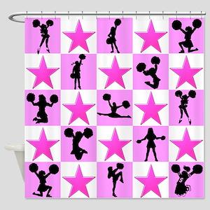 STAR CHEERLEADER Shower Curtain
