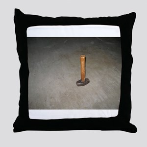 Sledgehammer Throw Pillow