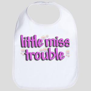 Little miss trouble Bib