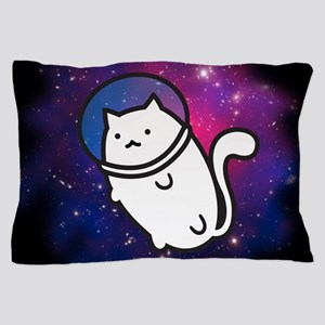 Fat Cat in Space Pillow Case