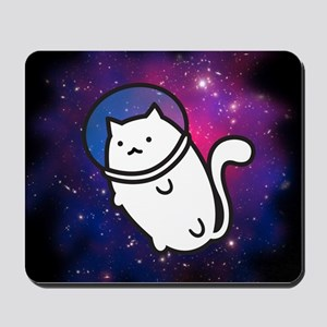 Fat Cat in Space Mousepad