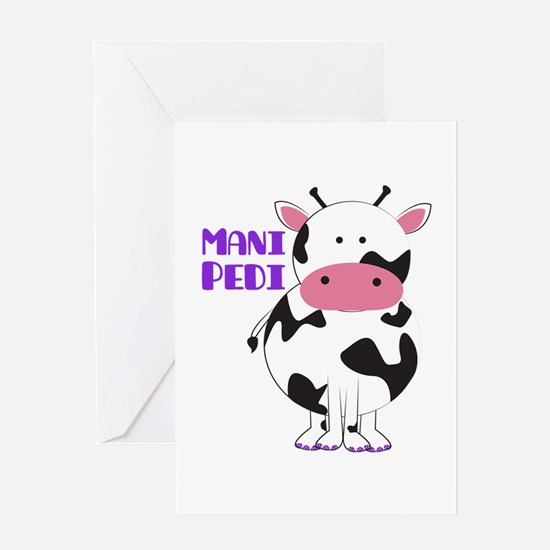 Mani Pedi Greeting Cards