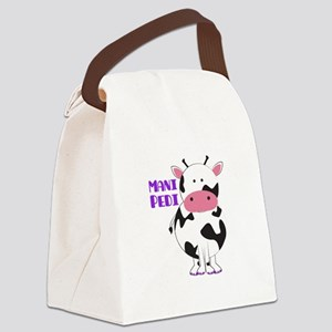 Mani Pedi Canvas Lunch Bag