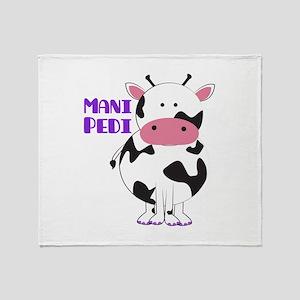 Mani Pedi Throw Blanket