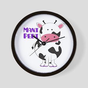 Mani Pedi Wall Clock