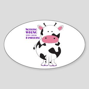 Pampering Sticker