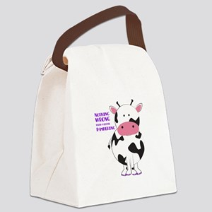 Pampering Canvas Lunch Bag