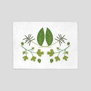 Herbs & Seasonings 5'x7'Area Rug