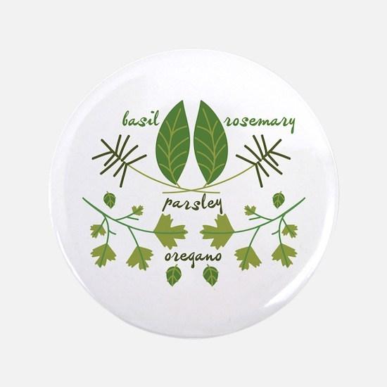 "Various Herbs 3.5"" Button"