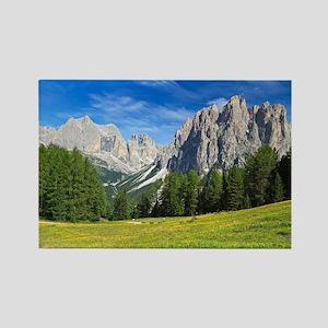 Dolomites - Catinaccio mount Magnets