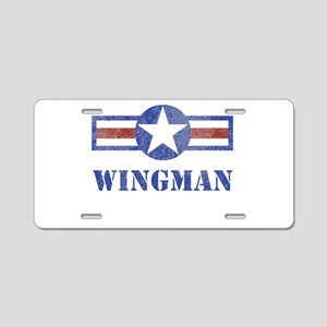 Wingman Aluminum License Plate