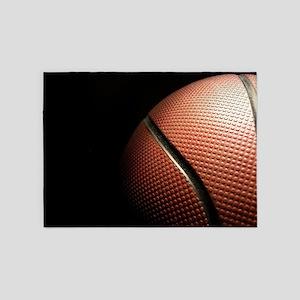 Basketball 5'x7'Area Rug