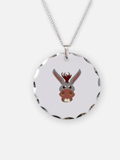 Donkey Face Necklace