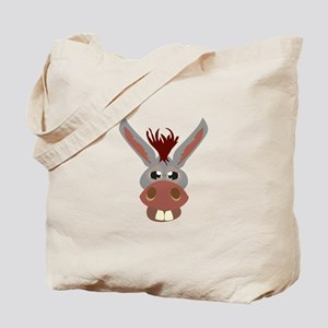 Donkey Face Tote Bag
