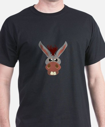 Donkey Face T-Shirt