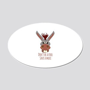 Save A Mule Wall Decal