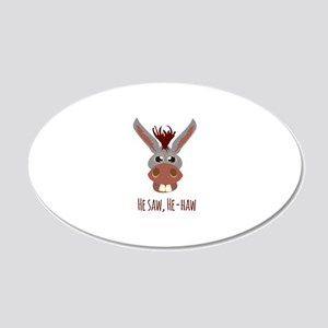 He - Haw Wall Decal