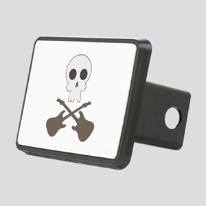 Skull & Guitar Bones Hitch Cover