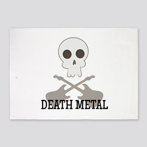 Death Metal 5'x7'Area Rug