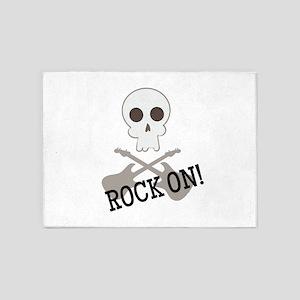 Rock On! 5'x7'Area Rug