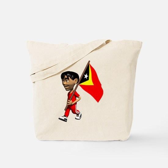 3D East Timor Tote Bag