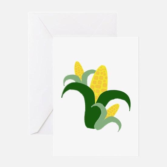 Fresh Corn Greeting Cards