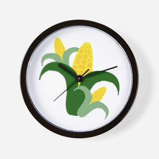 Fresh Corn Wall Clock