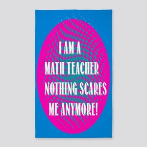 I am a Math Teacher... 3'x5' Area Rug