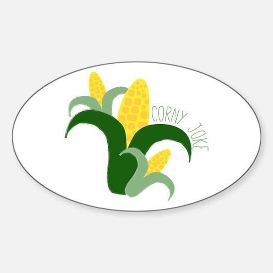 Corny Joke Decal