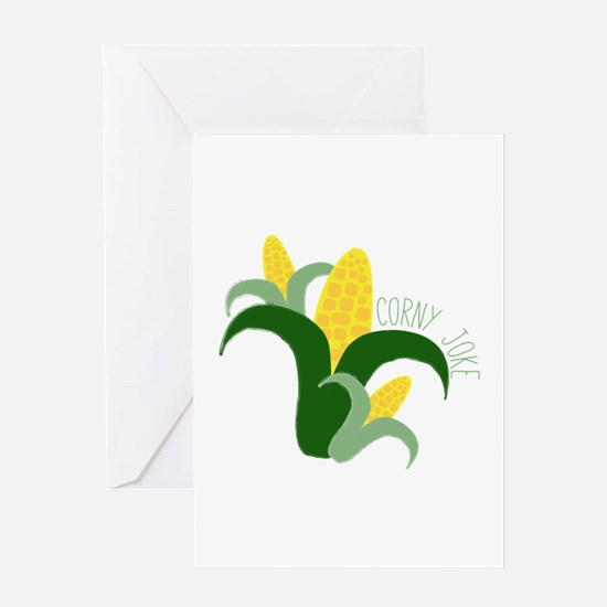 Corny Joke Greeting Cards