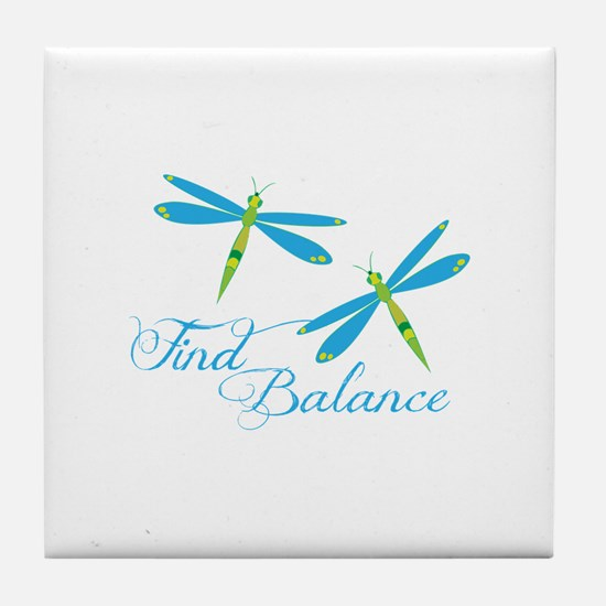 Find Balance Tile Coaster