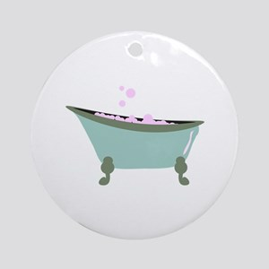 Bubble Bath Ornament (Round)