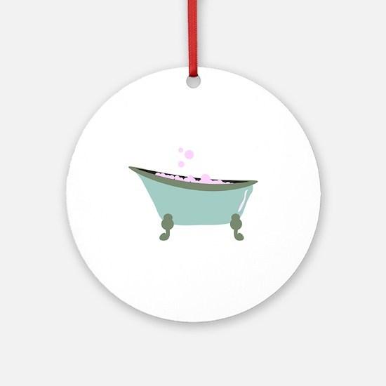 Bubble Bath Ornament (Round)
