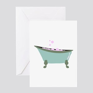 Bubble Bath Greeting Cards