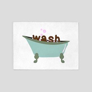 Wash Bath 5'x7'Area Rug