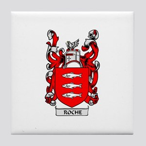 ROCHE Coat of Arms Tile Coaster