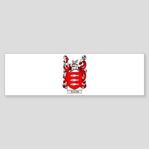 ROCHE Coat of Arms Bumper Sticker