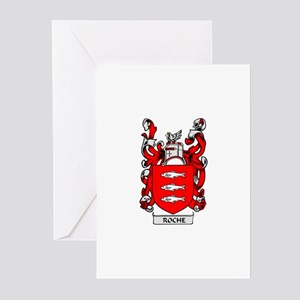 ROCHE Coat of Arms Greeting Cards (Pk of 10)