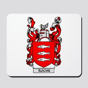 ROCHE Coat of Arms Mousepad