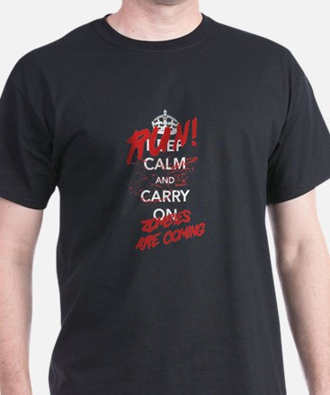 Run! Zombies Are Coming T-Shirt