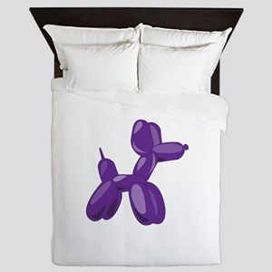 Balloon Dog Queen Duvet